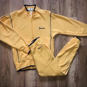 Vintage Yellow Converse Track Suit 💛💛💛
